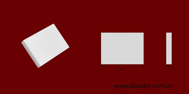 Код товара ФР0078. Орнамент из гипса. Розничная цена 10 грн./шт.