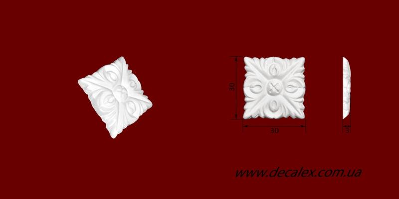 Код товара ФР0024. Орнамент из гипса. Розничная цена 15 грн./шт.