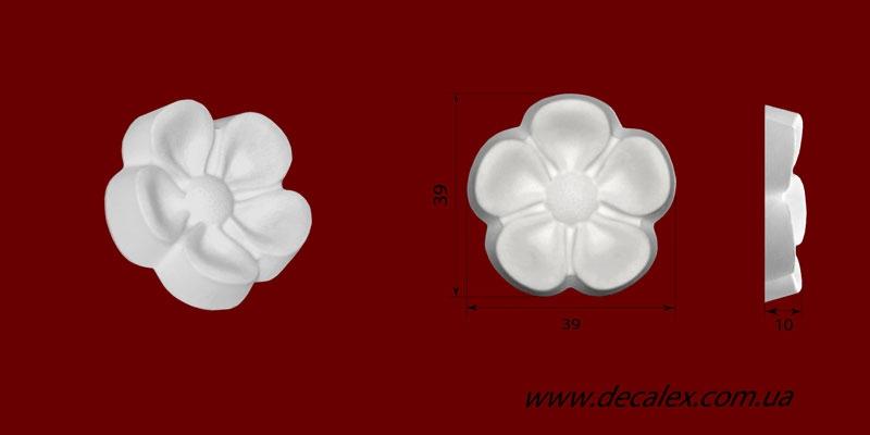 Код товара ФР0059. Орнамент из гипса. Розничная цена 15 грн./шт.