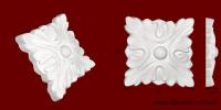 Код товара ФР0002. Орнамент из гипса. Розничная цена 40 грн./шт.