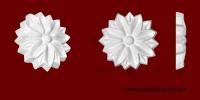Код товара ФР0071. Орнамент из гипса. Розничная цена 20 грн./шт.