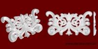 Код товара ФР0051. Орнамент из гипса. Розничная цена 45 грн./шт.