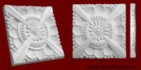 Код товара ФР0045. Орнамент из гипса. Розничная цена 90 грн./шт.
