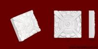 Код товара ФР0007. Орнамент из гипса. Розничная цена 30 грн./шт.