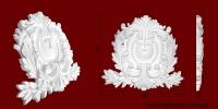 Код товара ФР0080. Орнамент из гипса. Розничная цена 240 грн./шт.