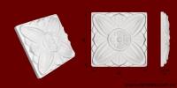 Код товара ФР0012. Орнамент из гипса. Розничная цена 40 грн./шт.