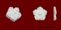 Код товара ФР0056. Орнамент из гипса. Розничная цена 15 грн./шт.