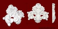 Код товара ФР0069. Орнамент из гипса. Розничная цена 80 грн./шт.